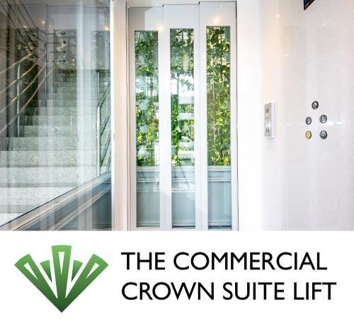 Commercial crown suite lift